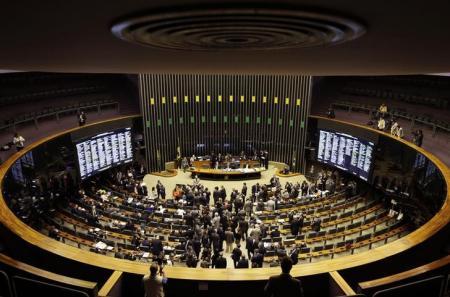 Plenário da Câmara dos Deputados durante sessão do Congresso Nacional. Foto: Reuters/Ueslei Marcelino -