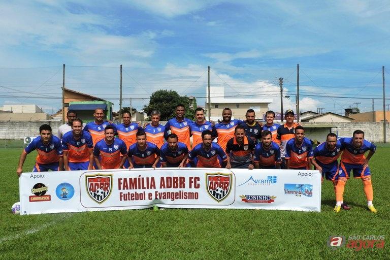 Time de futebol de campo já participou de duas edições da Copa Evangélica. Foto: Gustavo Curvelo/Divulgação -