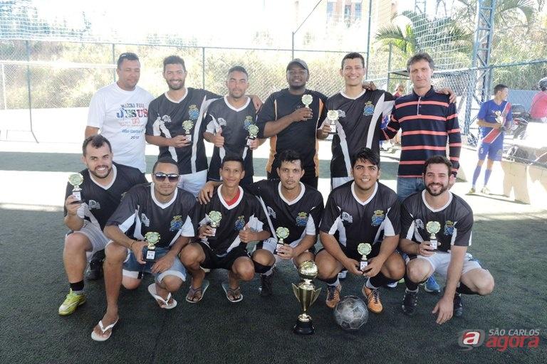 Equipe chegou ao título ao vencer a Pentecostal da Bíblia na final. Foto: Gustavo Curvelo/Divulgação -