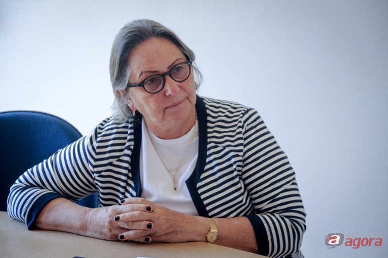 Ilza Zenker leme Joly é a coordenadora do projeto de Musicalização Infantil. Foto: Letícia Longo -