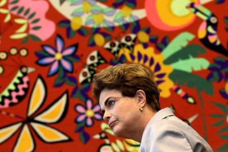 Presidente afastada Dilma Rousseff dá entrevista a correspondentes estrangeiros em Brasília. Foto: Reuters/Ueslei Marcelino -