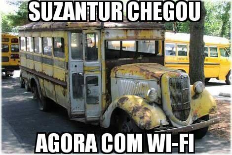 Nova empresa de ônibus virou motivo de chacota na internet. -