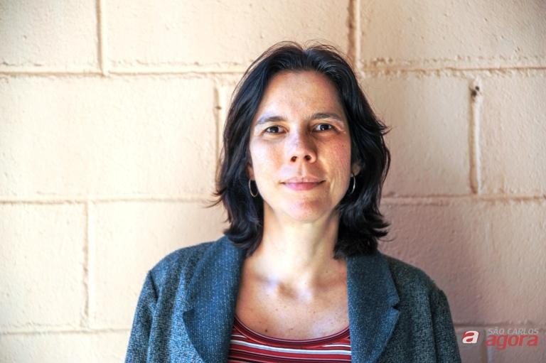 Professora Luciana coordena pesquisas da historiografia cinematográfica. Foto: Leticia Longo -