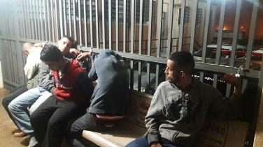 Criminosos foram presos após empenho da PM. (foto Descalvado Agora) -