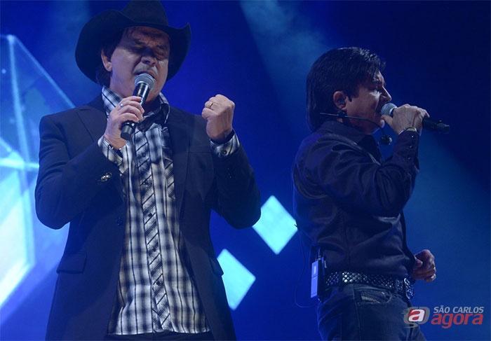 Legenda foto: Jantar Show com Chitãozinho e Xororó acontece dia 16 de setembro na Oasis em São Carlos. Foto: Assessoria de Imprensa CH&X -