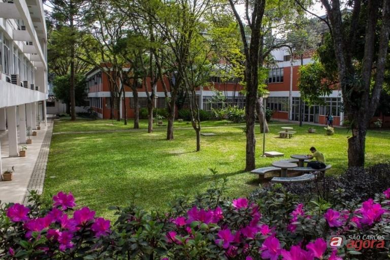 Coordenador do programa de pós-graduação destaca a qualidade de vida que os estudantes têm ao optar por estudar em São Carlos. Foto: Nilton Junior/ArtyPhotos -