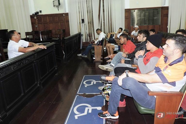 Temas referentes ao campeonato serão debatidos. Foto: Gustavo Curvelo/Divulgação -