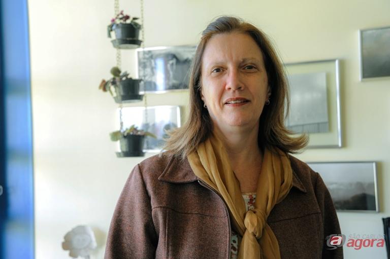 Giselle Dupas orientou pesquisas sobre crianças com deficiência visual. Foto: Leticia Longo -