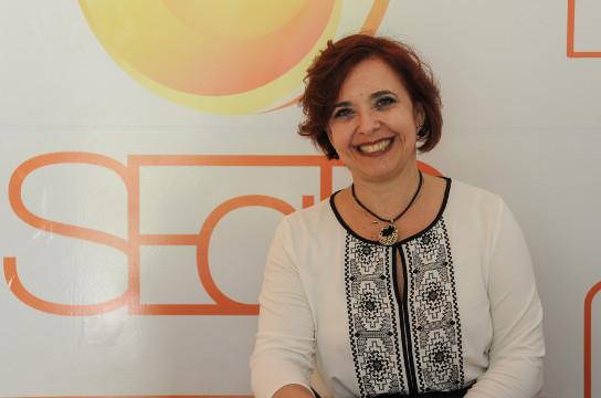Denise é docente da UFSCar desde 1994. Foto Letícia Longo -