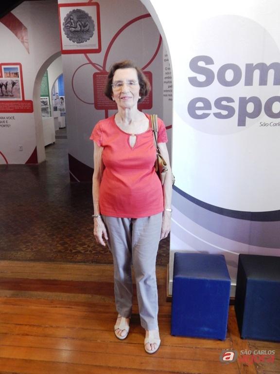 Anita Prestes, filha de Luís Carlos Prestes, visita a UFSCar. Foto: Alexei Antonio (BCo/UFSCar) -
