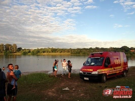 Corpo de Bombeiros foi averiguar possível caso de afogamento no 29. (foto arquivo) -