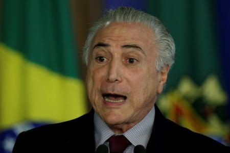 Presidente Michel Temer no Palácio do Planalto, em Brasília. Foto: Reuters/Ueslei Marcelino -