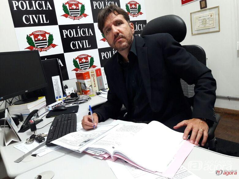 Equipe da DIG esclareceu mais um caso de repercussão na cidade. (foto Maycon Maximino) -