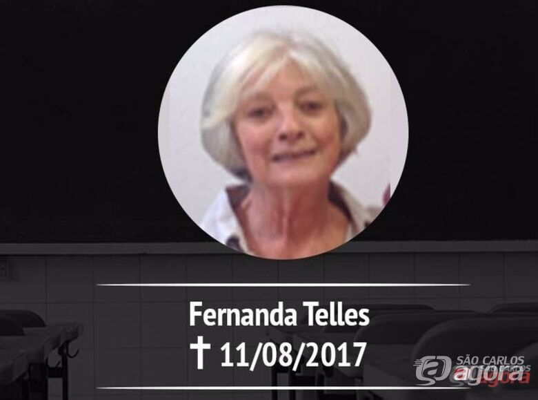 Morre aos 75 anos a professora Fernanda Telles -