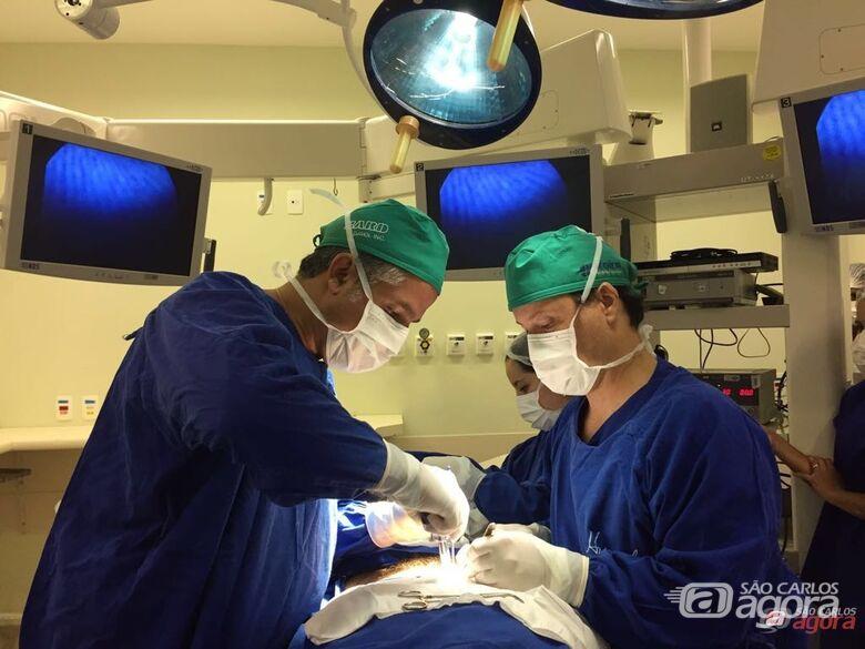 Cirurgia será transmitida em tempo real, via internet, do Centro Cirúrgico da Santa Casa -
