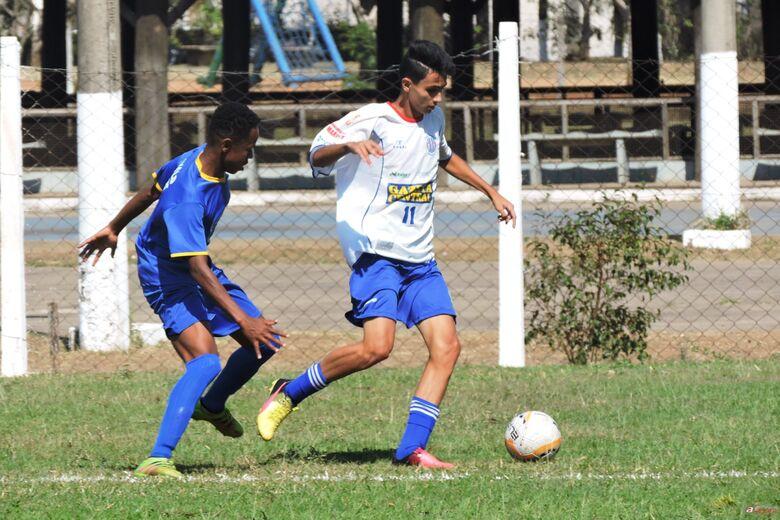 Sub16 empatou e garantiu vaga na próxima fase com quatro rodadas de antecedência. Foto: Gustavo Curvelo/Divulgação -