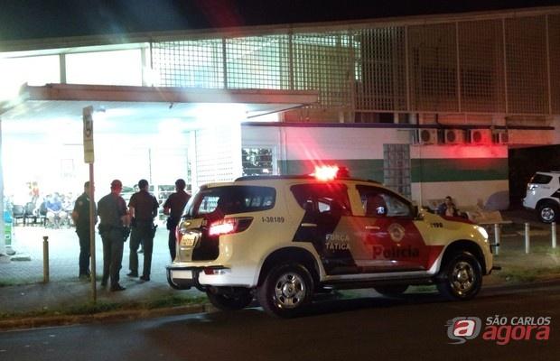 Adolescente foi encaminhado à UPA da Vila Prado, aonde chegou morto. (foto Luciano Lopes) -
