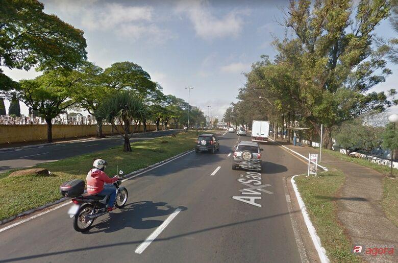 Trecho da Avenida São Carlos está interditado -