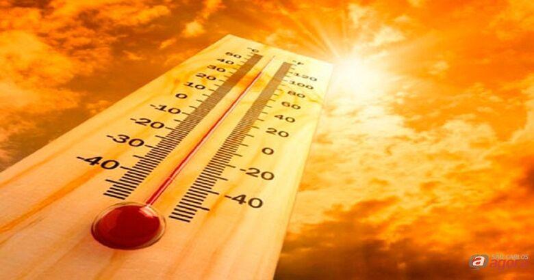Temperaturas continuam em elevação; sexta-feira deve fazer 35ºC -