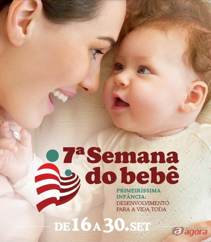Passeata abre programação da 7ª Semana do Bebê -