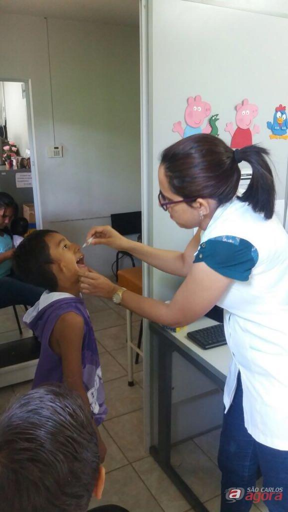 Campanha de Multivacinação tem baixa adesão em São Carlos -