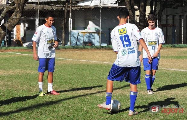 Sub-16 do Lobão ainda não perdeu na Taça Paulista. Foto: Gustavo Curvelo/Divulgação -