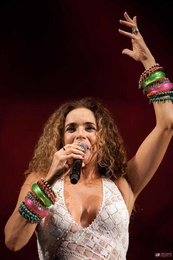 Cantora Daniela Mercury se apresenta no SESC São Carlos nesta quarta-feira (11) -
