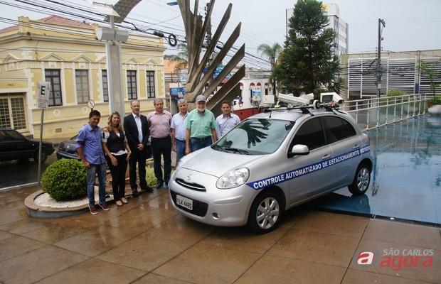 Prefeitura vai usar carro com câmeras para fiscalizar veículos estacionados na Área Azul -