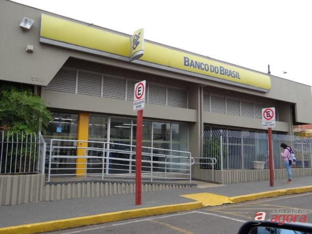Ladrões roubam coletes e armas no Banco do Brasil, em Ibaté -