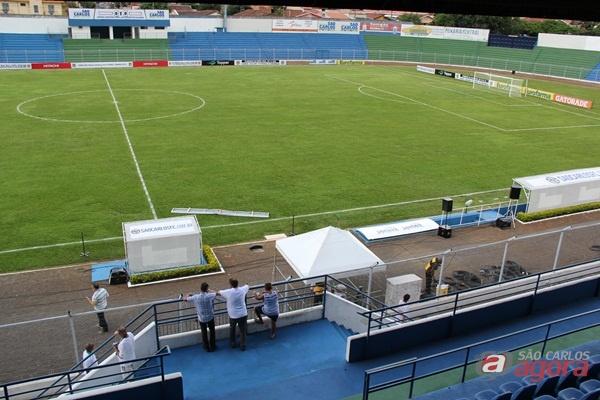 Airton Garcia autoriza reforma do Luisão para receber a Copa São Paulo de Futebol Junior em 2018 -
