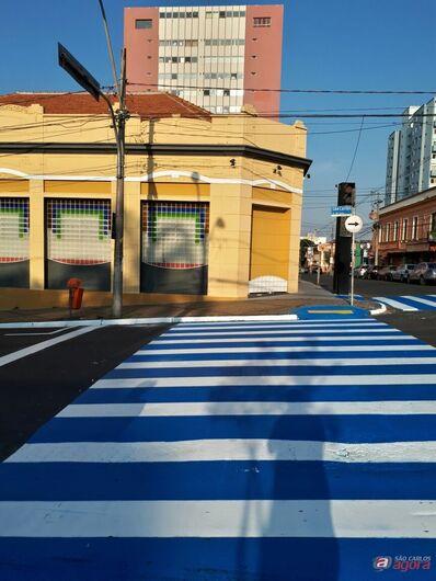 Revitalização e modernização da avenida São Carlos começa a ser feita -