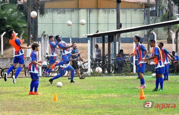 Sub19 do Lobão só avança em caso de vitória. Foto: Gustavo Curvelo/Divulgação -
