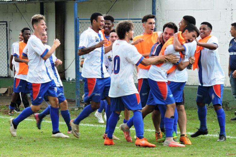 Gol solitário de Matheus Cavalcante colocou o Lobão sub19 entre os quatro melhores. Foto: Gustavo Curvelo/Divulgação -