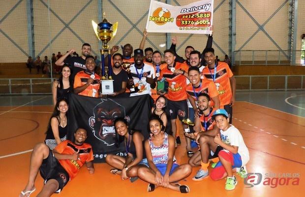 Vitória por 5 a 2 deu à Garagem Church seu primeiro título da competição. Foto: Gustavo Curvelo/Divulgação -