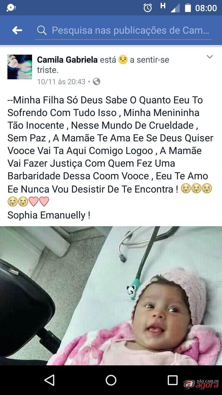 Notícia falsa de bebê sequestrado em São Carlos mobiliza as redes sociais -