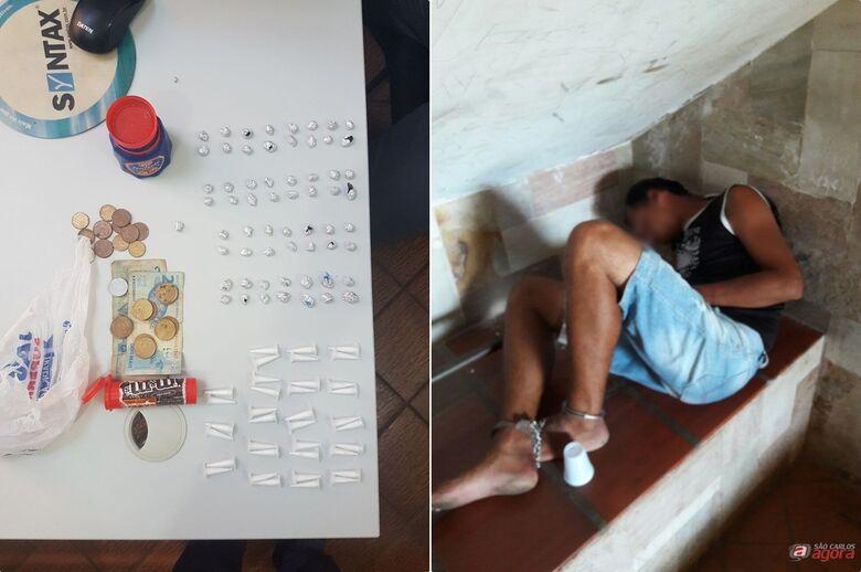 Rapaz é flagrado com cocaína e crack no São Carlos VIII -