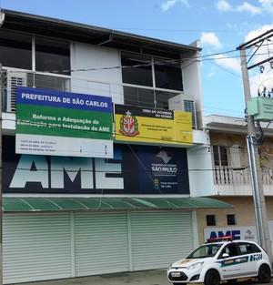 Governo do Estado define OSS que vai administrar o AME São Carlos -