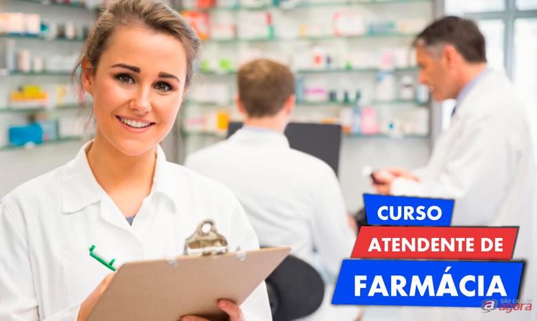 Vagas abertas para os cursos de atendente de farmácias, auxiliar de laboratório de analises clínicas e auxiliar veterinário -