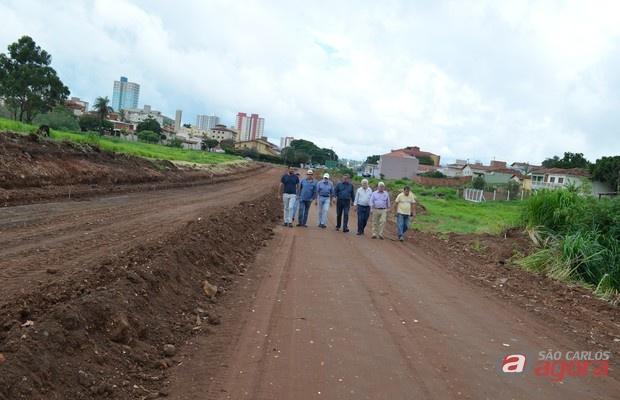 Prolongamento da avenida Trabalhador São-carlense já começou -
