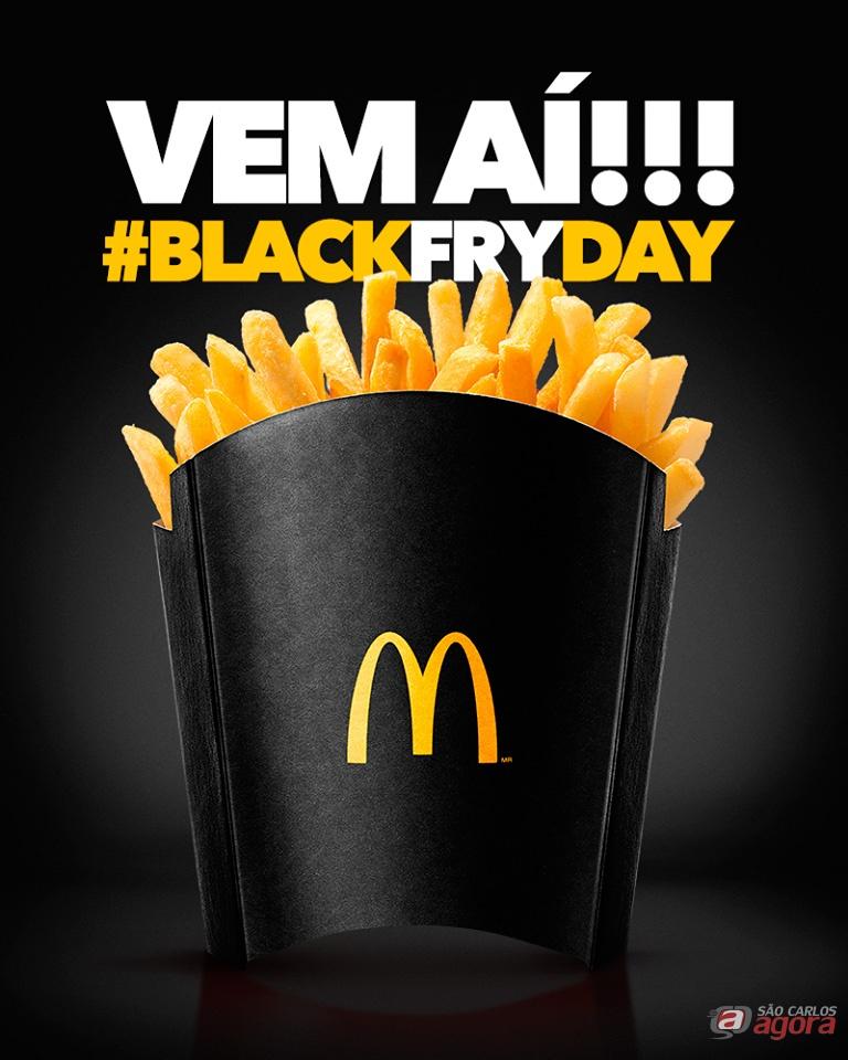 MCDonald's anuncia refil grátis de batatas fritas na Black Friday -