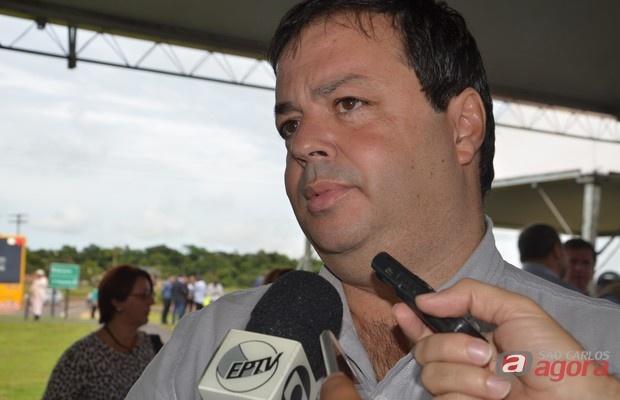 Caco Colenci, secretário municipal de saúde. -