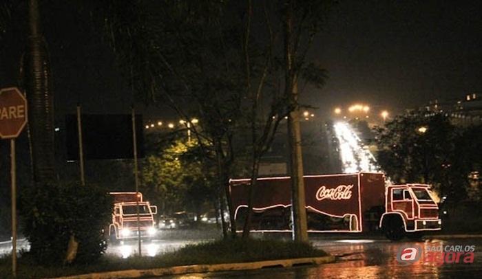 Caravana da Coca-Cola passa por São Carlos no dia 18 de dezembro  -