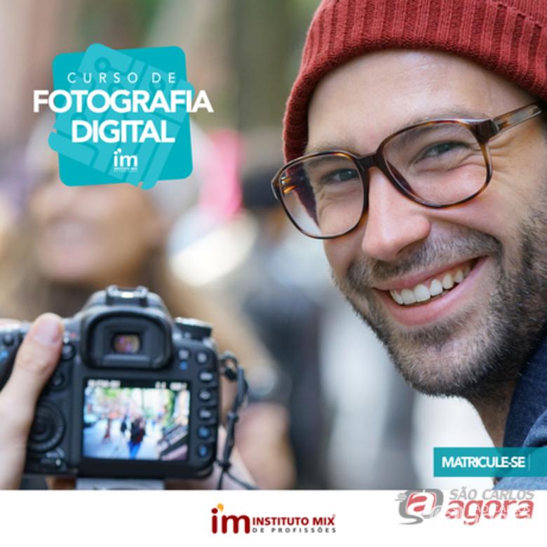 Conheça o curso de Fotografia Digital Profissional no Instituto Mix São Carlos -