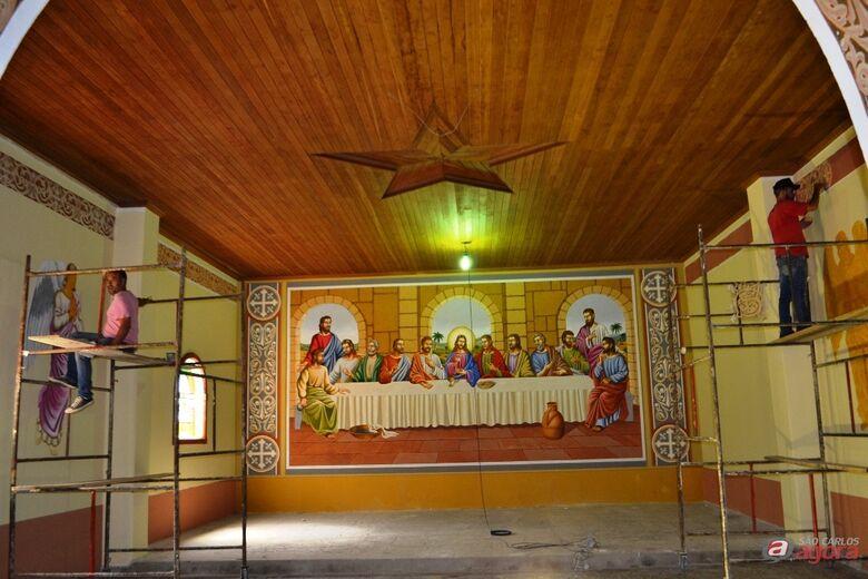 Igreja Matriz Centenária de Ibaté está passando por obras de restauração -