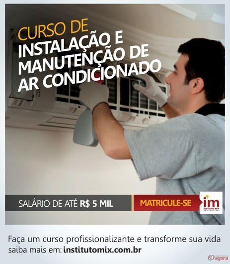 Conheça o curso de Instalação e Manutenção de Ar Condicionado no Instituto Mix São Carlos -