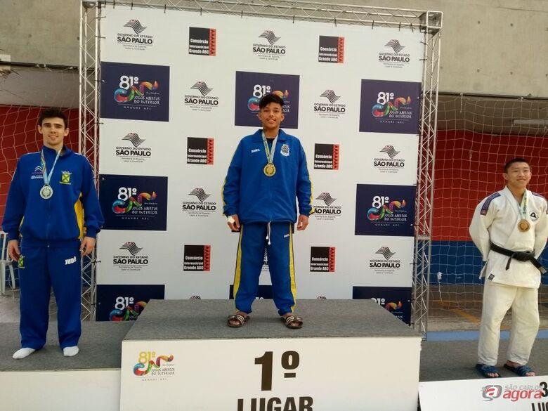 Atleta do Projeto Escola de Esportes da Prefeitura é campeão na modalidade Judô nos Jogos Abertos -