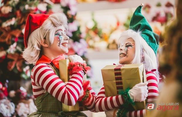 Papai Noel chega ao shopping Iguatemi nesta quarta-feira (15) -