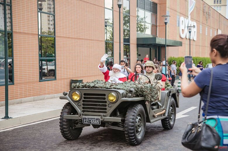 Confira os horários em que o Papai Noel está no Iguatemi -