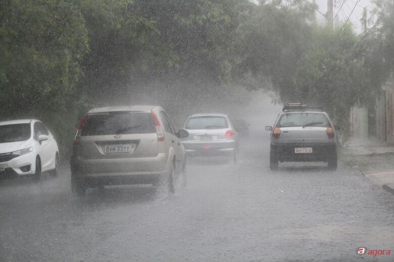 IPMET alerta para risco de chuva forte em São Carlos -