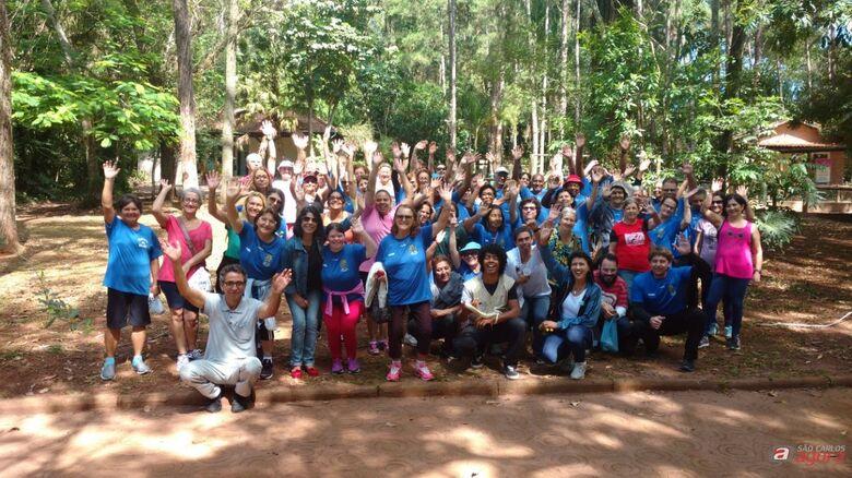Grupos do SOAF encerram atividades com passeio no Parque Ecológico -